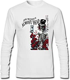 Men's Joe Russo's Almost Dead Long Sleeve Cotton T Shirt