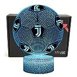 Deal Best fußball-form-3d optische Illusion smart-7 Farben-led-nachtlicht tischlampe mit USB-stromkabeln