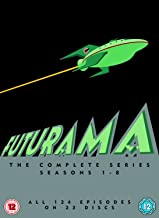 Futurama Seasons 1-8 DVD [Italia]