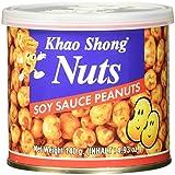 Khao Shong Erdnüsse mit Sojasauce, 140 g Dose