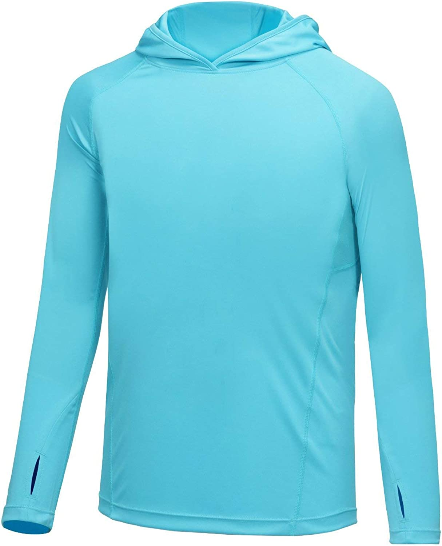 BALEAF Boys UPF 50+ Shirts Sun Protection Quick Dry Youth Long S