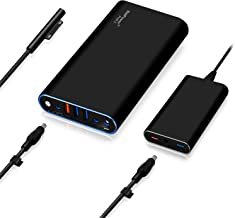 BatPower ProE 2 ES7B 98Wh MS Surface Power Bank for Surface Pro X 7 6 5 4 3 2 RT Go Surface Book 2 1 External Battery Surface Laptop 3 2 1 Portable Charger, USB QC 3.0 Fast Charging Tablet Smartphone