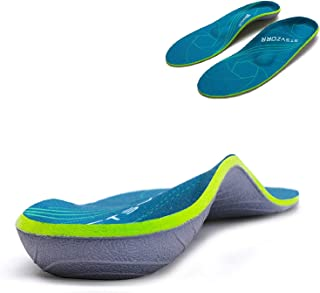 Plantar Fasciitis Arch Support Orthopedic Insoles Relieve Flat Feet Heel Pain Shock Absorption Comfortable Insoles