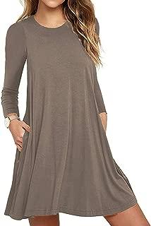 full sleeve swing dress