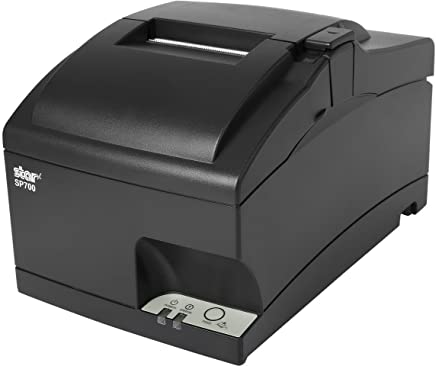 Square and Clover POS Register Kitchen Receipt Printer - SP742ML, SP700 Ethernet, Impact, Auto Cutter, Power Supply and Cable Included