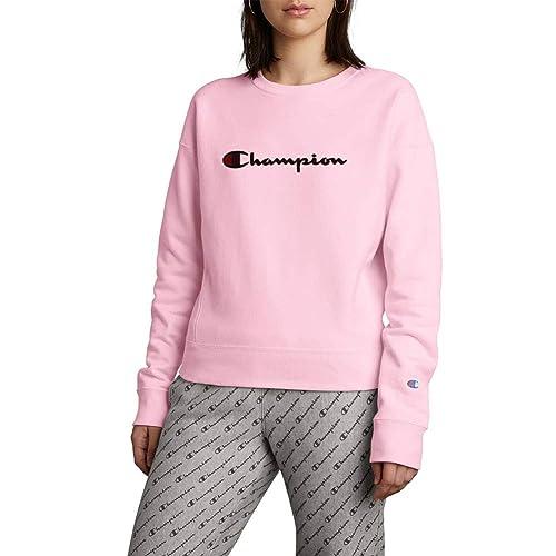 8be501296346 Pink Champion Sweatshirt: Amazon.com