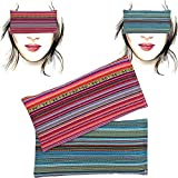 Almohada para los ojos 'Pack-2 Alpujarreña' | Semillas de Lavanda y arroz | Yoga, Meditación,...