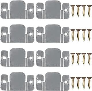 PAXCOO 8 Pcs Metal Sectional Sofa Interlocking Furniture Connector with Screws