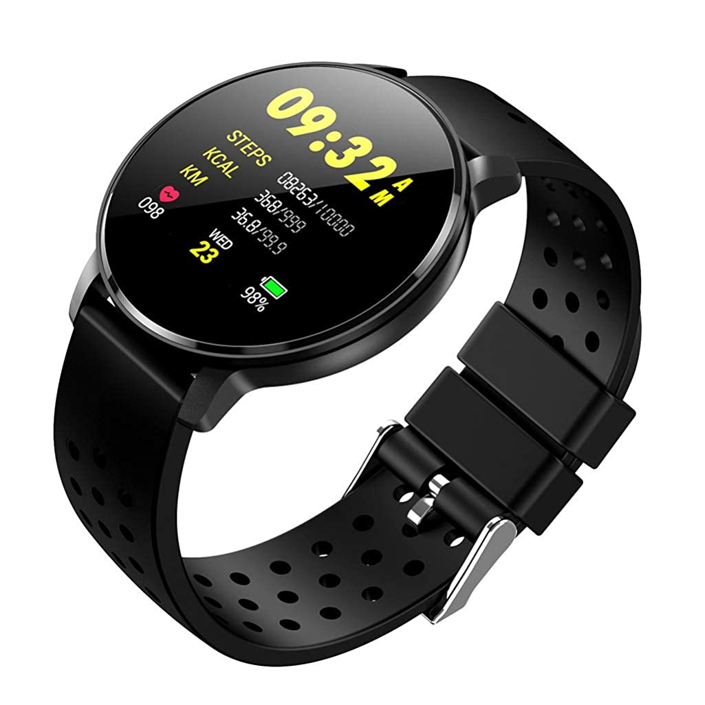 HowLoo Smart Watch for Outdoor Exercise Fitness Wristband Wear Heart Rate Blood Pressure Monitoring for Android iOS Reloj inteligente