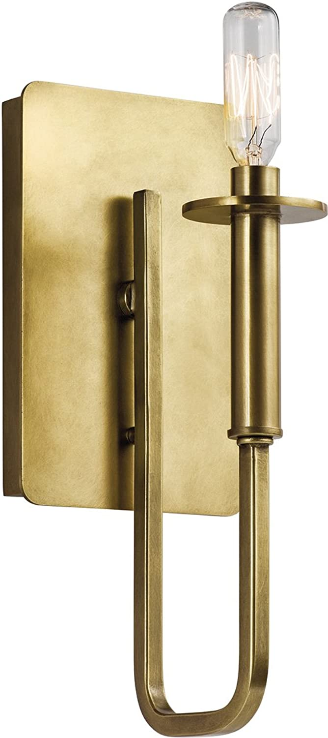 Kichler 43363NBR One Light Wall Sconce