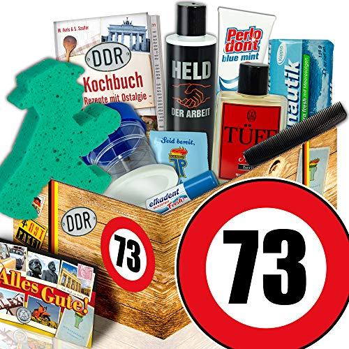 Pflege Set DDR Männer / 73. Geburtstag Geschenk / Geschenke Männer Geburtstag