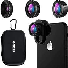 FEGEGO Camera Lens Kit for iPhone X/XR/8/7Plus/7/6sPlus,...
