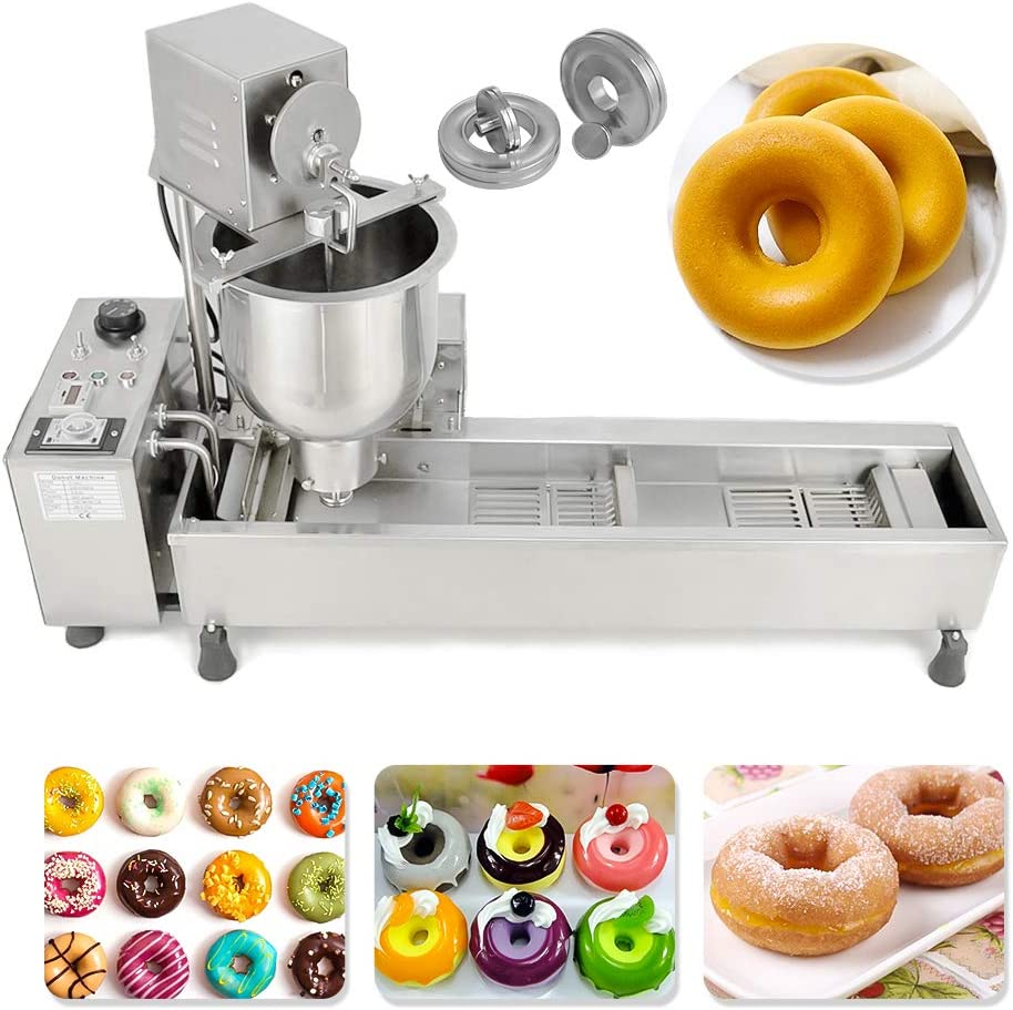 Automatic Shipping included Mini Donut Making Frying w Machine 110v Free Shipping Cheap Bargain Gift