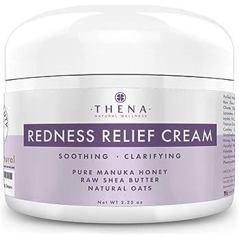 Amazon Com Redness Relief Face Cream Rosacea Skin Care With Manuka Honey Calendula Colloidal Oatmeal Natural Rosacea Treatment For Eczema Acne Anti Itch Dry Skin