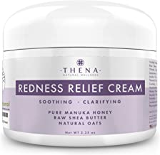 Redness Relief Face Cream Rosacea Skin Care with Colloidal Oatmeal Manuka Honey, Natural Rosacea Treatment for Eczema Acne Anti Itch Dry Sensitive Skin Organic Facial Cream Moisturizer Lotion Products
