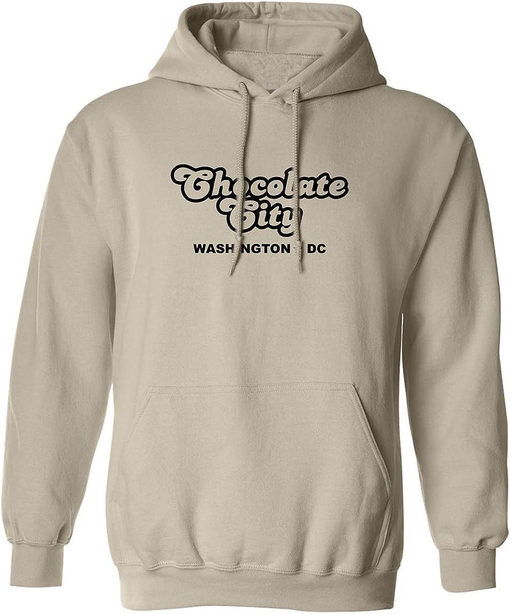 Chocolate City Washington DC Adult Hooded Sweatshirt