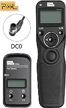 PIXEL Digital DSLR Cameras Shutter Cord Release Remote Control Timer for Nikon D800 D810 D700 D500 D300 D200 D1 D2 D3 D4 D5 D500 D3 Series,N90s F5 F6 F100 F90 F90X S5 Pro S3 Pro Kodak DCS-14N