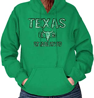 Texas Rodeo Bull Vintage Workout Americana Hoodie