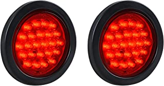 2pc Red 24-LED 4