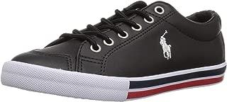 Polo Ralph Lauren Kids Boys' Edmund Sneaker Black-t M135 M US Little Kid