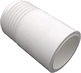 LASCO 15-1641 PVC Hose Adapter with 3/4-Inch Male Hose Thread and 1/2-Inch PVC Pipe Glue Connection