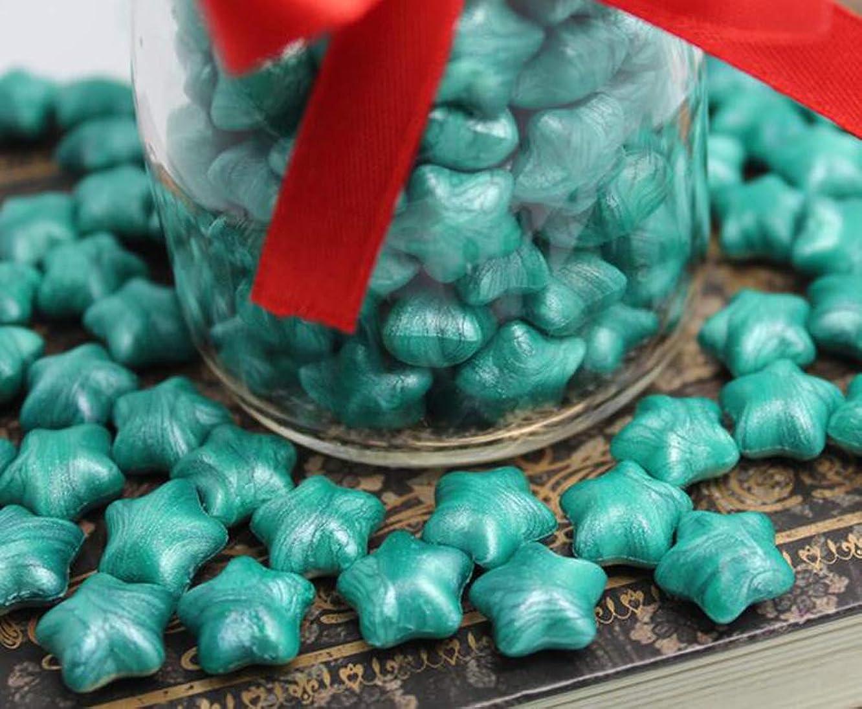 FQL 1 Bottle Of Star Shape Sealing Wax Sticks Beads For Wax Seal Stamp (Light Green)