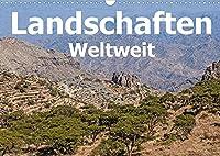 Landschaften - Weltweit (Wandkalender 2022 DIN A3 quer): Die schoensten Landschaften dieser Welt (Monatskalender, 14 Seiten )