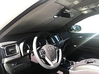 HeatShield, The Original Windshield Sun Shade, Custom-Fit for Toyota Highlander SUV 2017, 2018, 2019, Silver Series