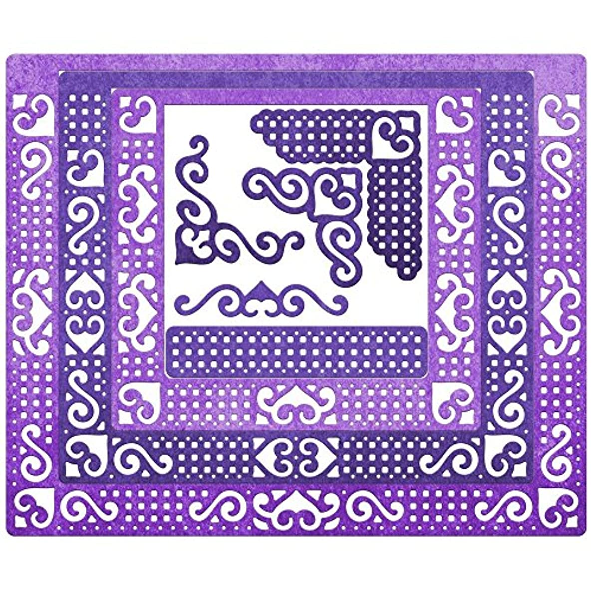Cheery Lynn Designs DL324 Lords & Commons A2 Card Facer Die Set