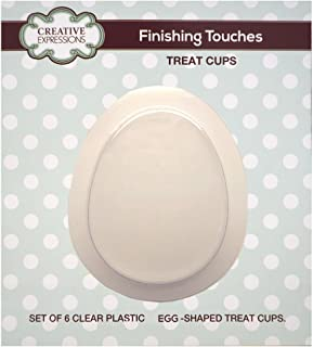 Creative Expressions CETREATEGG Egg Shaped Treat Cuts, Multicolor