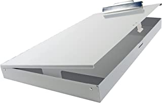 11x17 Clipboard Aluminum with High Capacity Clip & Storage Area