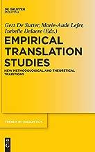 التجريبية ترجمة الدراسات (اتجاهات linguistics: الدراسات و monographs)