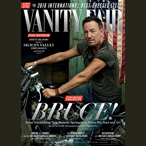 Vanity Fair: October 2016 Issue cover art
