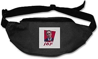 Fanny Pack For Women Men Jordan Peterson JBP KFC Logo Waist Bag Pouch Travel Pocket Wallet Bum Bag For Running Cycling Hiking Workout