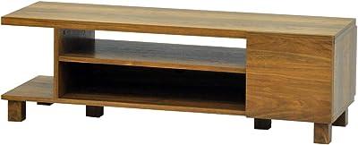 エイ・アイ・エス (AIS) ロスタ テレビボード120 幅118.5cm ブラウン LST-4012TB BR