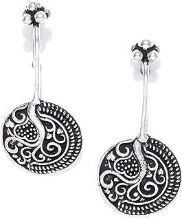 PRITA Silver Plated Designer Earcuff for Women