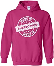 Puerto Rico Made in Puerto Rico Unisex Hoodie (SHP) Heliconia Pink