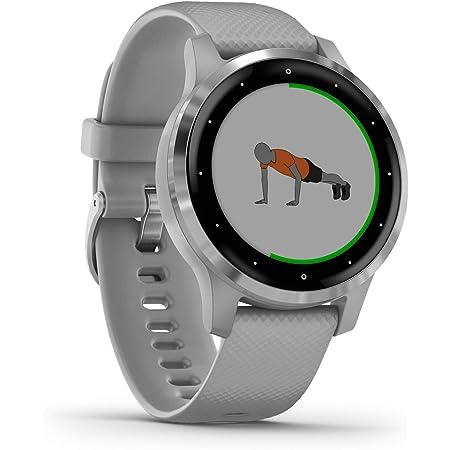 Garmin Vívoactive 4S - Reloj Inteligente con GPS y Funciones de Control de la Salud Durante Todo el día, Color Gris (Reacondicionado)