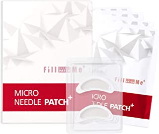 JYS&TECH FILL ME Micro Needle Patch+ 4pairs - Hyaluronic Acid Microneedle Patch Wrinkles | Micro Needle Patch Pads for Puffy Eyes | Dark Circle | Facial Forehead | Around Mouth Deep Wrinkles Reduce