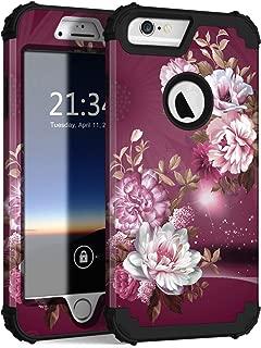 Hocase iPhone 6s Plus Case, iPhone 6 Plus Case, Heavy Duty Shockproof Protection Hard Plastic+Silicone Rubber Protective Case for iPhone 6 Plus/6s Plus w/ 5.5