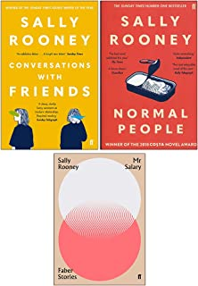 Sally Rooney 3 Books Collection Set ( Normal People, Conversations with Friends,Mr Salary)