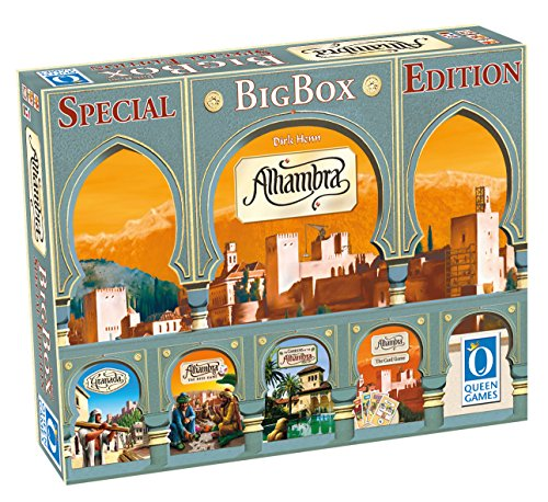 Queen Games 10132 Alhambra Big Box Spezial Edition