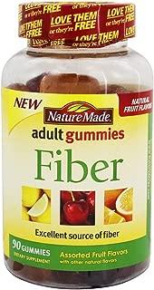 Nature Made Adult Gummies Fiber Assorted Fruit - 90 Gummies