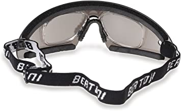 Bertoni Sports Glasses with Optical Clip Prescription Lenses Carrier for Motorcycle MTB Ski Skydiving Cycling Softair Extreme Sports - Windproof AF79 Italy
