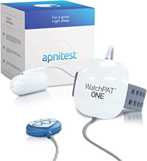 Home Sleep Apnea Test Diagnostic Machine (HSAT): Watchpat One at Home Sleep Study Kit by Itamar Medical. Tests The Need fo...