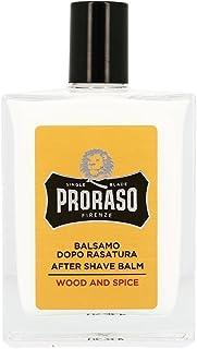 Proraso ウッド&スパイス アフターシェーブバーム 髭用バーム 100ml[海外直送品] [並行輸入品]
