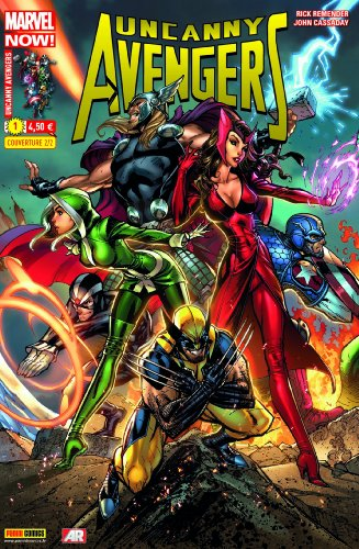 Uncanny Avengers 01 Couv2/2 Campbell