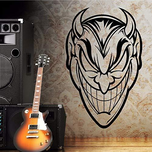 Yaonuli muursticker van vinyl duivel afbeelding muursticker huis slaapkamer muur decoratie