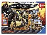 Dragons - Puzzles 3 x 49 Piezas (Ravensburger 09258 1)