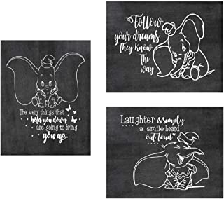 Simply Remarkable Dumbo Poster Print Photo Quality - Made in USA - Disney Family House Rules - Frame not Included (8